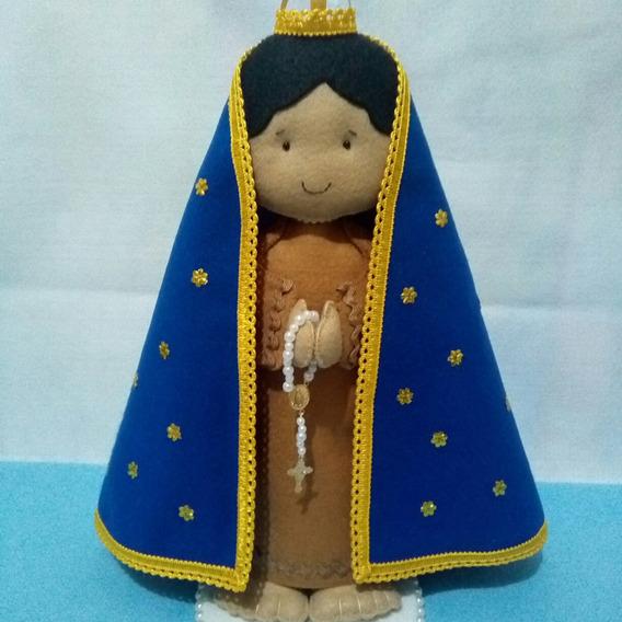 Nossa Senhora Da Aparecida Em Feltro / Santa De Feltro