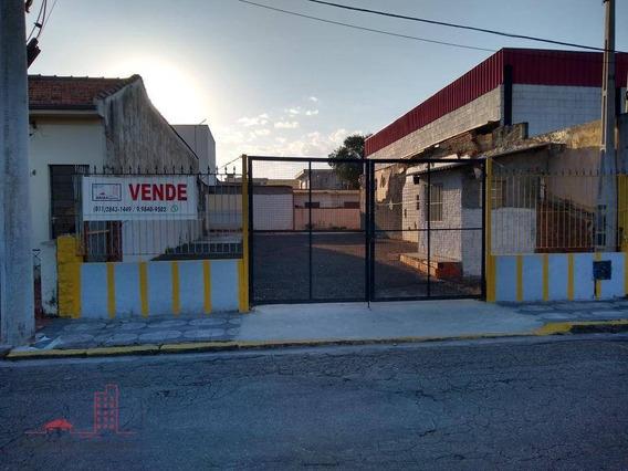Terreno À Venda, 330 M² Por R$ 600.000,00 - Vila Mogilar - Mogi Das Cruzes/sp - Te0014