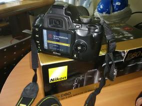 Camara Nikon D60 Mas De 11 Megapixels