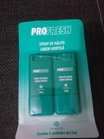 Spray Bucal Contra Mau Hálito Pro Fresh (2 Unidades)
