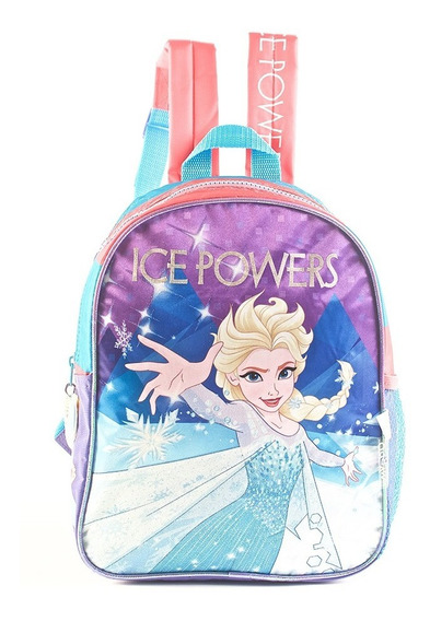 Mochila Frozen Ice Power Rosa Espalda 12