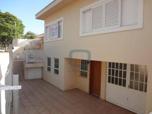 Casa Com 5 Dormitórios, 187 M² - Venda Por R$ 650.000,00 Ou Aluguel Por R$ 4.000,00/mês - Jardim Guanabara - Campinas/sp - Ca0318