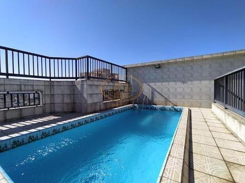Cobertura  Com 4 Dormitório(s) Localizado(a) No Bairro Embaré Em Santos / Santos  - 6759
