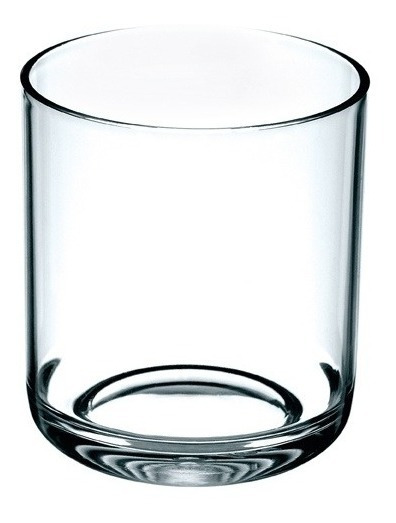 Copo Whisky Kos Em Acrílico Cristal 320ml