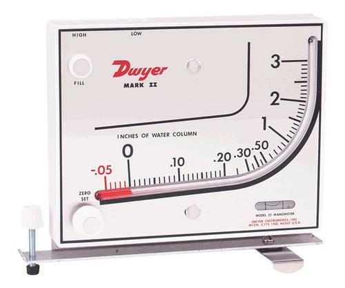 Manómetro Diferencial De Columna Inclinada 0/700pa Dwyer
