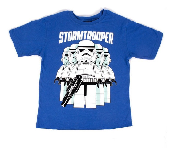 Playera Para Niño Lego Estampado Star Wars Stormtrooper Big
