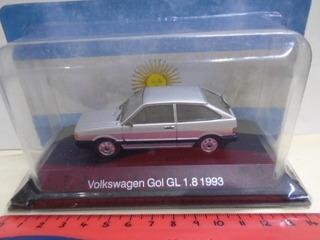 Salvat Inolvidables 1/43 Volkswagen Gol Gl 1.8 1993
