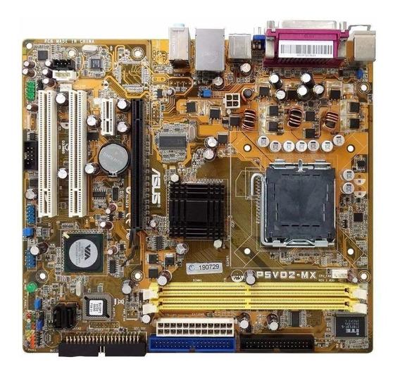 Placa Mãe 775 Ddr2 4gb Sata Pci-e Core 2 Duo Dual Core Oem