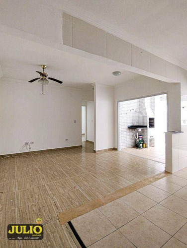 Imagem 1 de 24 de Apartamento Com 2 Dormitórios, 75 M² Por R$ 280.000 - Centro - Mongaguá/sp - Ap1190