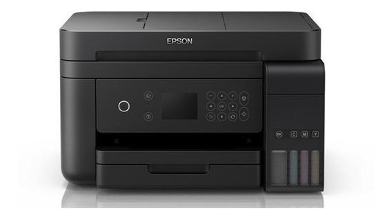 Impressora Multifuncional Epson Eco Tank L6171 Wi-fi