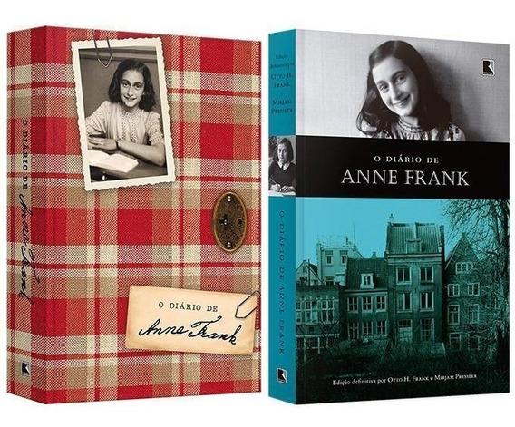 Kit 2 Livros Anne Frank Capa De Luxo + Edição Definitiva