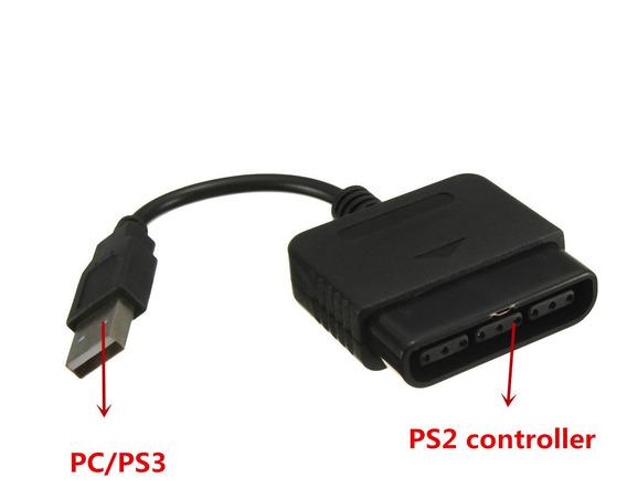 Adaptador Usb Conversor Jogo Acessórios Controlador Para Pc