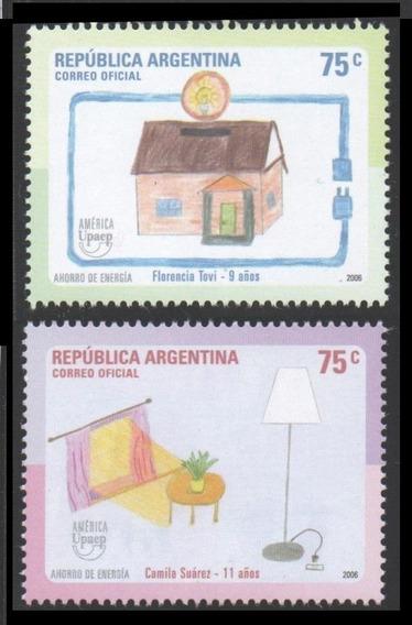 Argentina 2006. América Upaep- Ahorro De Energía. Mint