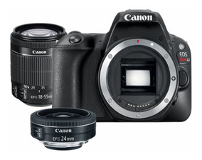 Canon Eos Rebel Sl2 Nf-e Ef-s 18-55mm Stm Is + Ef-s 24mm