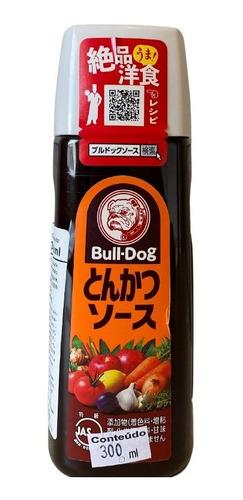 Imagem 1 de 1 de Molho Tonkatsu Porco A Milanesa Sauce Bull Dog 300ml
