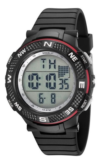 Relógio Speedo Masculino Big Case Digital 81195g0evnp2