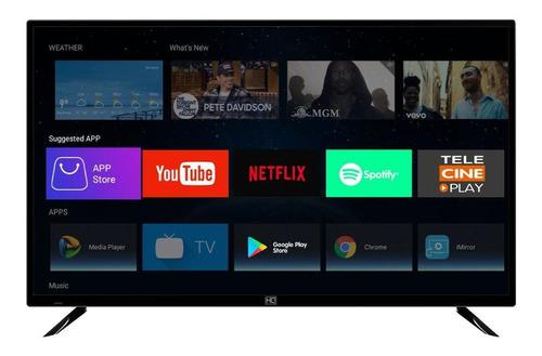 """Tv 43"""" Led Hq 4k - Ultra Hd Smart - Hqstv43ny"""
