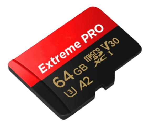 Cartao Memória Micro Sdxc 170mb/s 4k 64gb Gopro Hero6 Hero7