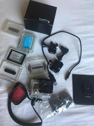Câmera Gopro Here 3 Com Caixa Lente