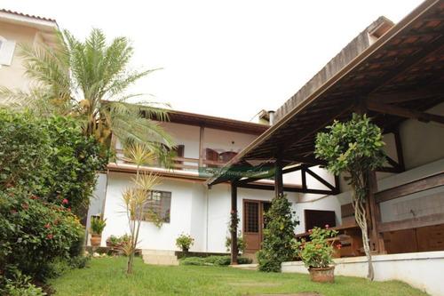 Imagem 1 de 6 de Sobrado Com 4 Dormitórios À Venda, 244 M² Por R$ 720.000 - Vila Suissa - Mogi Das Cruzes/sp - So1538