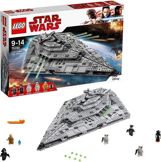 Lego 75190 Star Wars Destructor Estelar De La Primera Orden