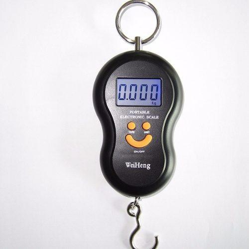Bascula Balanza Dinamometro Digital Maletero 50kg 06684 Pesa