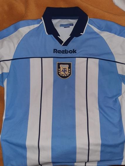 Camiseta Selección Argentina De Fútbol 2001, Reebook