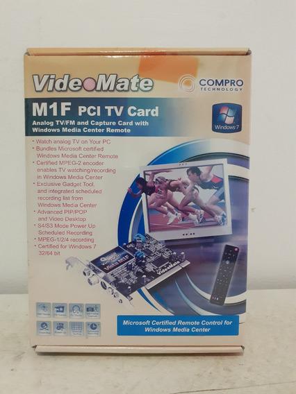 Capturadora De Tv Interna C/control