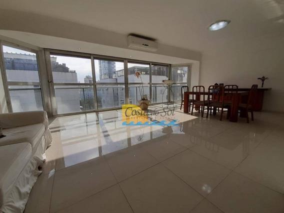 Cobertura Com 4 Dormitórios À Venda, 347 M² Por R$ 1.170.000,00 - Aparecida - Santos/sp - Co0047