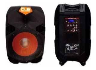 Bafle Amplificado Dub 15 Pg By Audiobahn Dub15asc