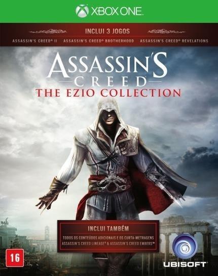 Assassins Creed The Ezio Collection (mídia Física) Xbox One