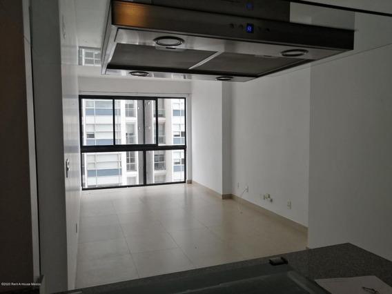 Departamento En Renta En Ampliacion Granada, Miguel Hidalgo, Rah-mx-20-3493