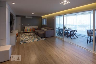Apartamento No 12º Andar Mobiliado Com 3 Dormitórios E 2 Garagens - Id: 892914396 - 214396