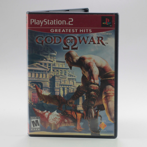 God Of War Ps2 Playstation 2 Original