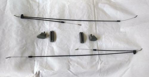 Kit Cables Y Perilla Butaca Gol Iii Gol Iv Gris