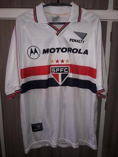 Camisa Do São Paulo Temporada 2000 (penalty) Motorola #10