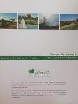 Parcela Cementerio Parque Del Recuerdo Ruta 5.