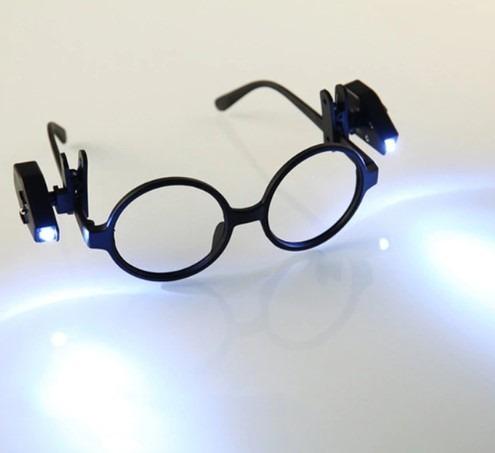 Lanterna Led Forte Encaixa Em Qualquer Oculos O Par