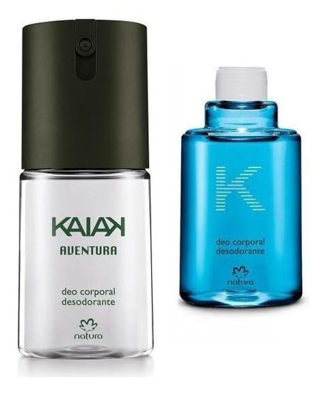 48%off Natura Kit Kaiak Deo Corporal + Refil 100ml