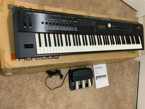 Roland Rd-2000 Stage Piano Electric Keyboard Digital 88 Keys