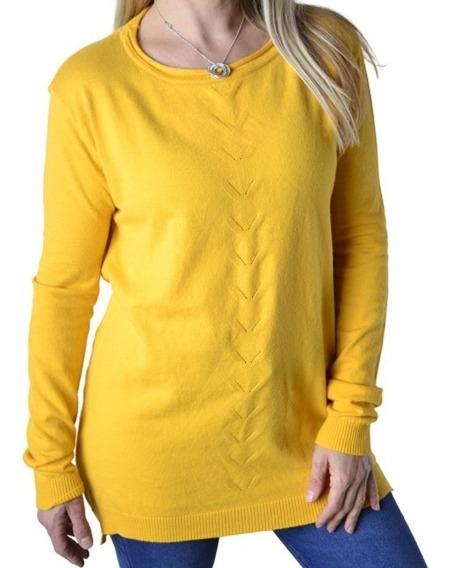 Sweater Largo De Bremer Mujer The Big Shop