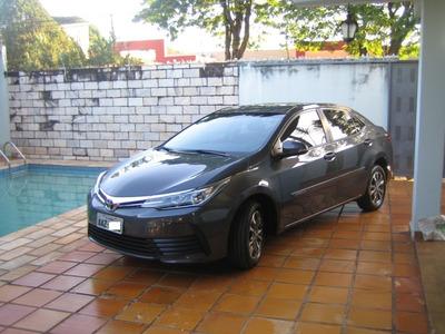 Corolla 1.8 Gli 2018 C/ 9.500 Km U. Dona Sem Detalhes Novo