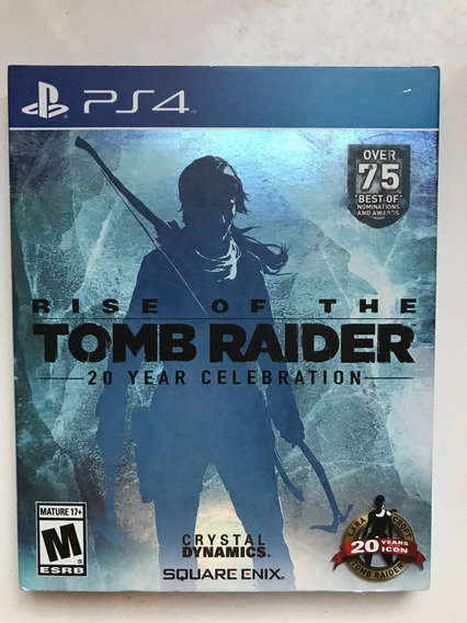Rise Of The Tomb Raider-20 Years Edição Especial- Ps4 Física