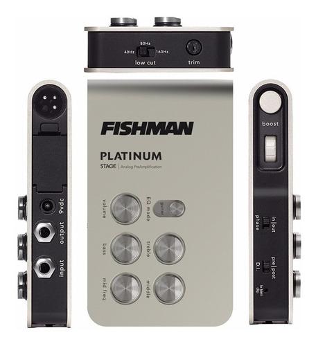 Fishman Plt301 Preamplificador Pedal Acustica Clasica