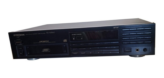 Cd Player Pioneer Modelo Pd-m560 6 Cd´s Usado
