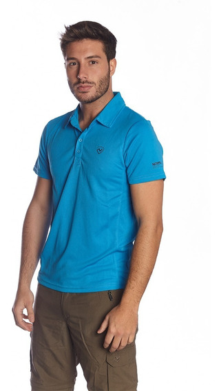 Remera Cooldry Gregor Ms Polo Azure Hombre Northland
