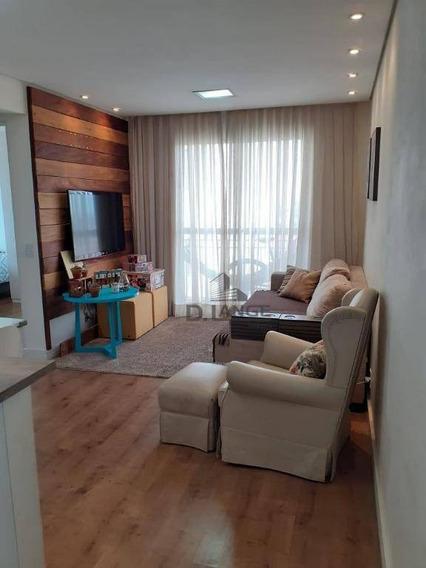Lindo Apartamento No Residencial Doce Lar. - Ap18212