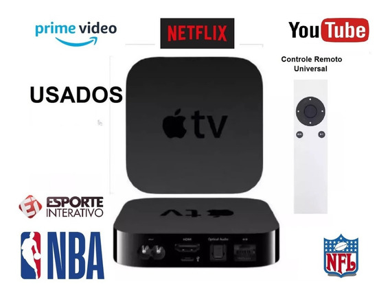 Apple Tv 3 Geraçao Full Hd / Usados/ Promoção Últimos Dias!!