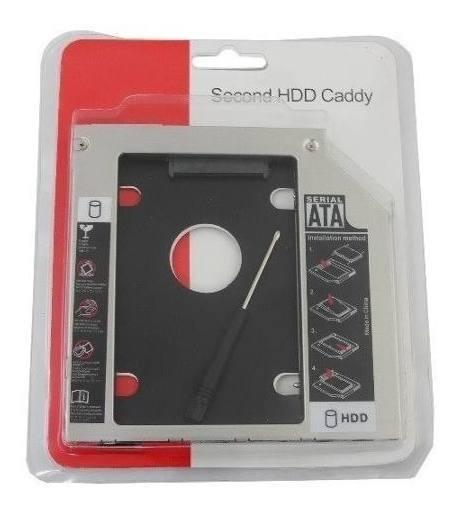 Adaptador Dvd Para Hd Ou Ssd Notebook Drive Caddy 9.5mm Novo