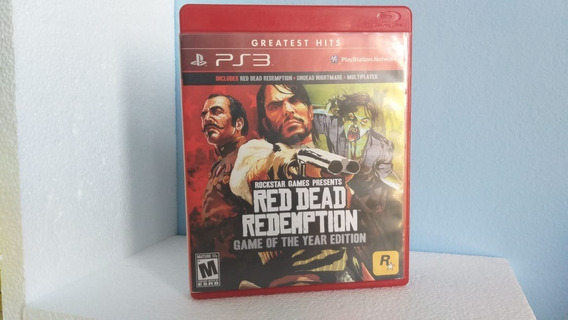 Red Dead Redemption Game Of The Year Edition - Midia Física